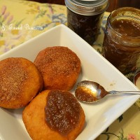 Old Fashioned Apple Butter Recipe & Fried Biscuits